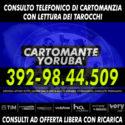 Il Cartomante Yoruba' è disponibile tutti i giorni per un consulto di Cartomanzia